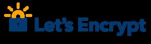 Let's Encrypt SSL-Zertifikat Logo